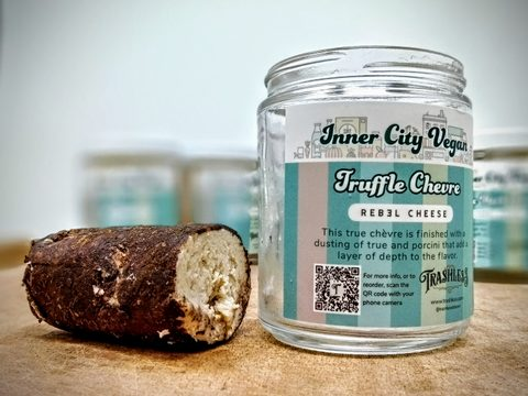 Truffle Chevre - Plant-based Cheese