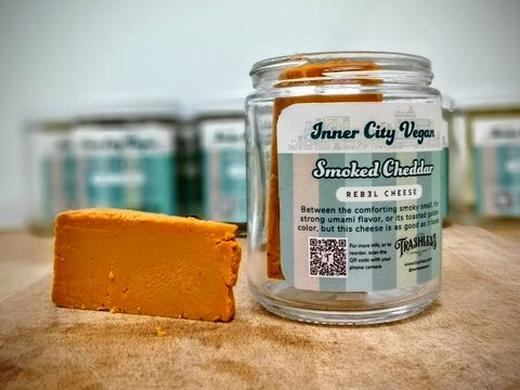 Smoked Cheddar - Plant-based Cheese